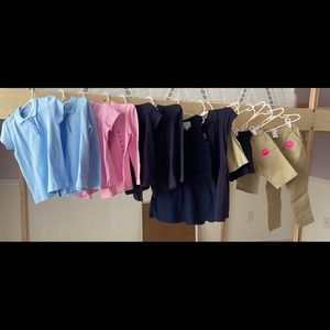 5T Girls School Uniform Lot